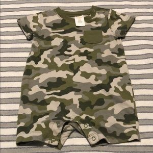 Gymboree Camouflage Romper (3-6 mo)